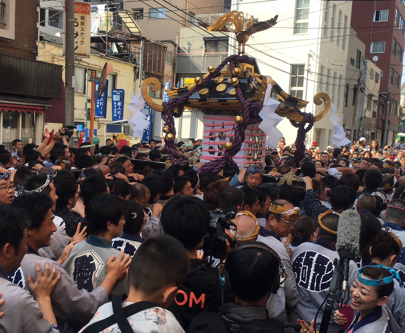 3 Japanese traditional festivals you can enjoy in May in central Tokyo