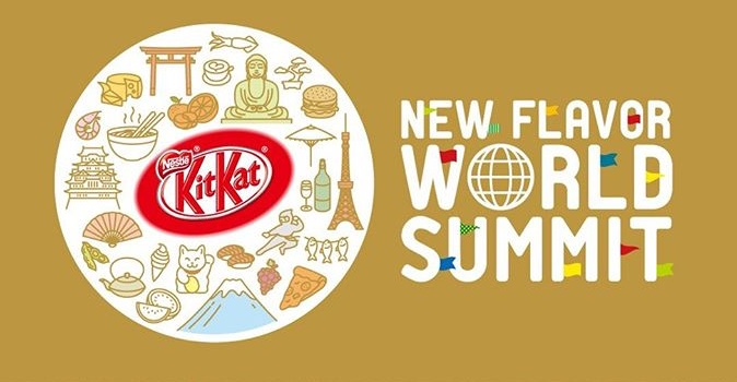 KitKat new flavour world summit 2018